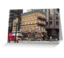 The Albert - Pub - Central London Greeting Card