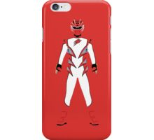 Power Rangers Jungle Fury Red Ranger iPhone Case iPhone Case/Skin