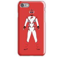 Power Rangers Jungle Fury Red Ranger iPhone Case iPhone Case/Skin
