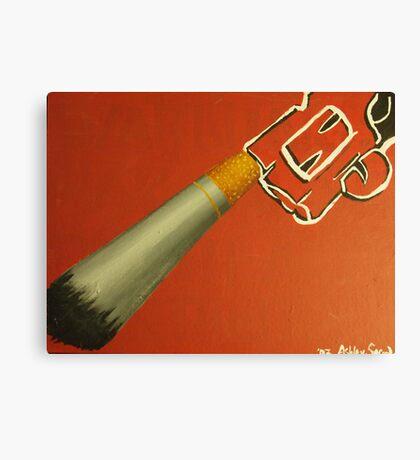 Smoke 'em like you load 'em Canvas Print