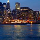 NEW YORK CITY'S SOUTH STREET SEAPORT by KENDALL EUTEMEY