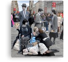 'Diamond Dick' at the Edinburgh Fringe 2011 Metal Print