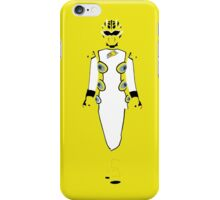 Power Rangers Jungle Fury Yellow Ranger iPhone Case iPhone Case/Skin