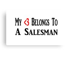 Salesman Canvas Print