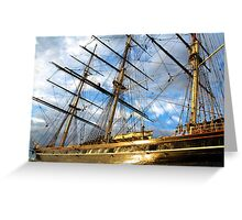 CUTTY SARK GREENWICH LONDON Greeting Card