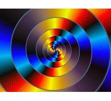 Data Spiral Photographic Print