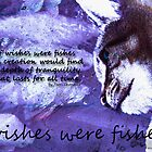 If Wishes Were Fishes w/Poem Purple by Terri Chandler