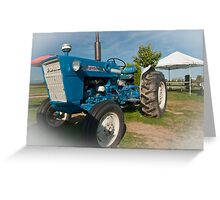 Ford tractor. Greeting Card