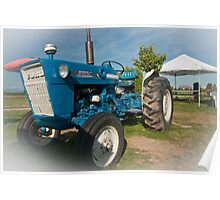 Ford tractor. Poster