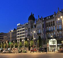 Astridplein, Antwerpen by Stephanie Owen