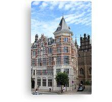 Amazing Antwerpen architecture Canvas Print