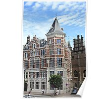 Amazing Antwerpen architecture Poster