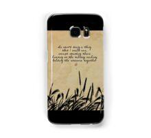 JD Salinger Quote Samsung Galaxy Case/Skin