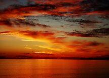 Burning Sunset by Jason Charlton