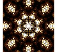 Diamond pearl Ring Of Light Photographic Print