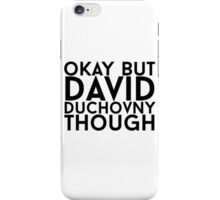 David Duchovny iPhone Case/Skin