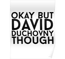 David Duchovny Poster