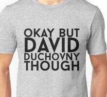 David Duchovny Unisex T-Shirt