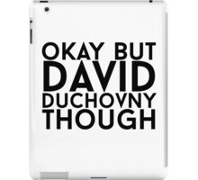 David Duchovny iPad Case/Skin
