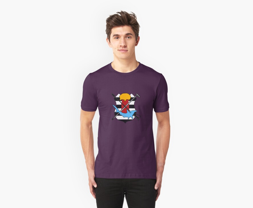 Sherlock Fandom t-shirt by Alice Jaskiewicz