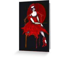 Dark Diva Greeting Card