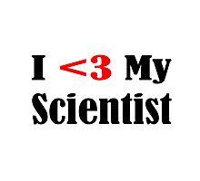 Scientist Photographic Print