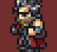 Auron sprite - FFRK - Final Fantasy X (FF10) by Deezer509