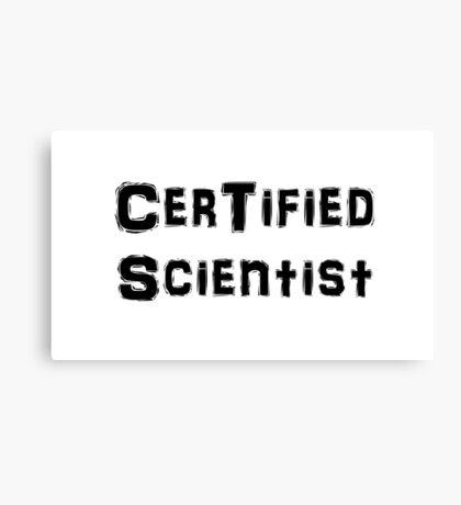 Scientist Canvas Print
