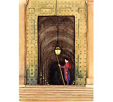 Papal Swiss Guard Photographic Print