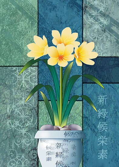 Clivia by Ann Nightingale