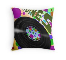 Phony Graph with Dots  Throw Pillow