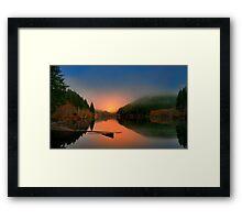 Horton Pond Framed Print