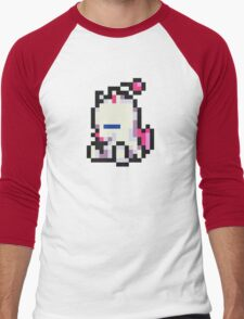Mog (Moogle) sprite - FFRK - Final Fantasy VI (FF6) Men's Baseball ¾ T-Shirt