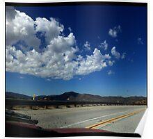 California Highway Living Poster