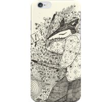 Sleepy Monday Fox iPhone Case/Skin
