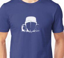 VW Beetle - White DOLAN - personalised Unisex T-Shirt