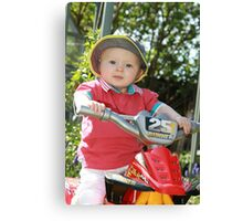 On your bike Part 2 Canvas Print
