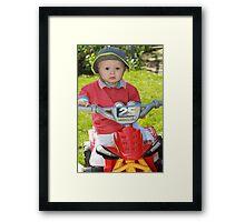 On your bike Part 3 Framed Print