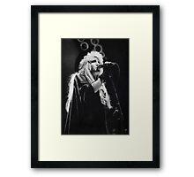 Stevie Nicks (graphite drawing) Framed Print