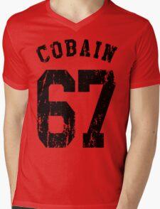 Cobain 67 Mens V-Neck T-Shirt