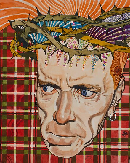 John Lydon by threefishes