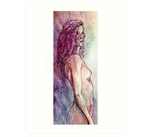 Sketch on fullcolor Art Print