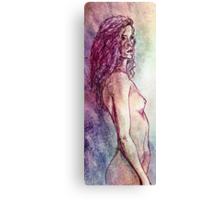 Sketch on fullcolor Canvas Print