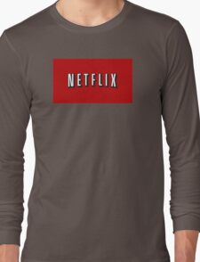 Netflix Logo Long Sleeve T-Shirt