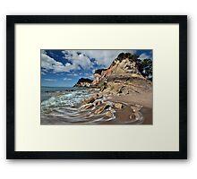 Otonga Point Rocks Framed Print