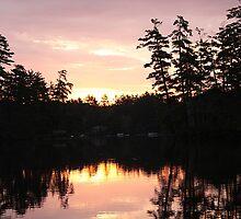 Sunrise At Bauneg Beg by Judi FitzPatrick