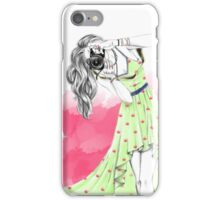 Photographer Girl iPhone Case/Skin