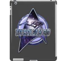star trek T shirt iPad Case/Skin