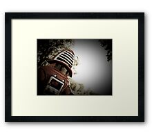 Retro Toy Robby Robot 01 Framed Print