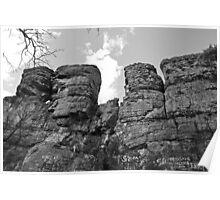 Random Rock Formation Poster